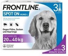 Merial Frontline combo Spot on Hund L Einzeldosispipetten (3 Stk.)