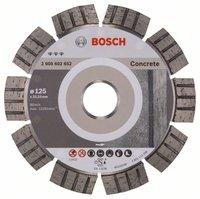 Bosch Diamanttrennscheibe: 125 mm Beton/Granit