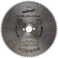 Wolfcraft CV-Kreissägeblatt 180 x 20 x 2,4 mm 100Z (6272000)