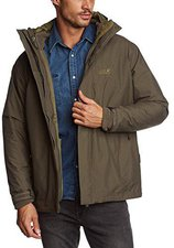 Jack Wolfskin Iceland Jacket Men Olive Brown