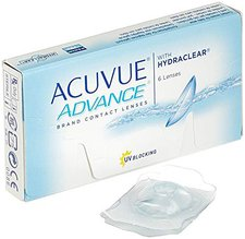 Johnson & Johnson Acuvue Advance with Hydraclear -10,00 (6 Stk.)