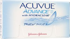 Johnson & Johnson Acuvue Advance with Hydraclear (6 Stk.) +3,25
