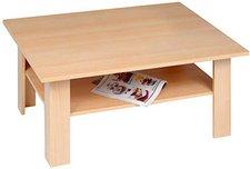 Proline-Tische Couchtisch / Wohnzimmertisch Buche Nachbildung 90x40x60 cm (M1502)