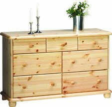 Steens Furniture Ltd 20221919 Kommode Max 77 x 120 x 40 cm Kiefer massiv natur lackiert