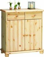 Steens Furniture Ltd 20222719 Sideboard Max 93 x 83 x 40 cm Kiefer massiv natur lackiert