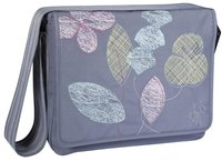 Lässig Messenger Bag Casual Leaves ash