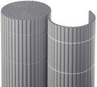 Noor Sichtschutzmatte PVC silber 100 x 300 cm