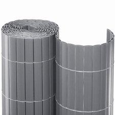 Noor Sichtschutzmatte PVC silber 120 x 300 cm