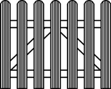 Osmo Lillehammer Holztor parallel 100 x 80 cm