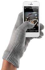 mujjo Touchscreen Gloves Natural Gray Größe M/L