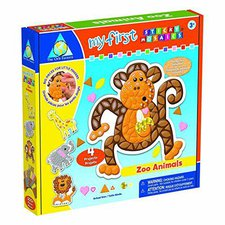 The Orb Factory Sticky Mosaics Zoo Animals (64075)