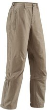 Vaude Women's Farley Stretch T-Zip Pants Muddy