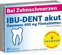 Heumann Ibu-Dent akut Heumann 400 mg Filmtabletten (20 Stk.)