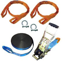 Slackstar Super Distance Slackline Set 20m