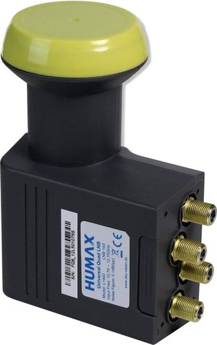 Humax Quad LNB 143 (0,1dB)