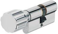 Abus EC550 Knaufzylinder Z40/K45 mm Wendeschlüssel mit 3 Schlüssel