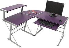 Heute Wohnen Nevada Eck-Computertisch (lila)