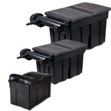 AquaForte Bio Mehrkammerfilter mit UVC (18000l/h)