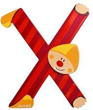Janod Clown Buchstabe X