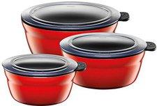 Silit Fresh Bowls-Set 3tlg. Energy Red