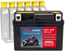 MOLL 12V 5.5Ah AGM YT7B-BS