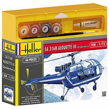 Heller Joustra SA 316 Alouette III Gendarmerie (50286)