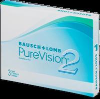 Bausch & Lomb PureVision 2 HD (3 Stk.) +2,00