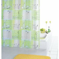 Ridder Duschvorhang Bathroom (180 x 200 cm)