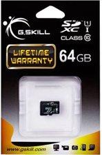 G.Skill microSDXC 64GB Class 10 UHS-I (FF-TSDXC64GN-U1)