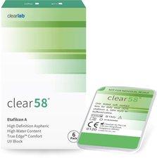 ClearLab Clear 58 -9,00 (6 Stk.)
