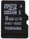 Toshiba microSDHC 8GB Class 10 UHS-I (SD-C008UHS1(BL5A)