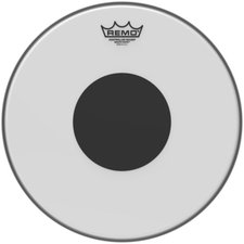 Remo Smooth White Controlled Sound Black Dot 13 ""