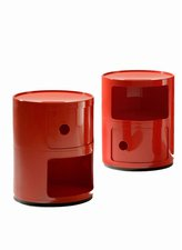 Kartell Componibili Schrank rot (4966)