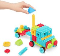 Battat Bristle Blocks - 112 pieces Basic Builder Set