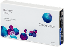 CooperVision Biofinity Toric (6 Stk.) +0,50
