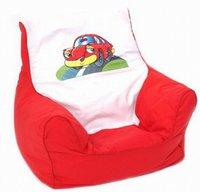 Knorr-Baby Mini-Sitzsack Red Racer