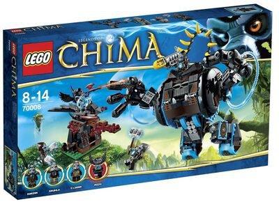 LEGO Legends of Chima - Gorzans Gorilla Striker (70008)