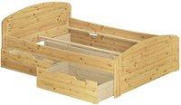 Erst-Holz 60.50-20 Bett Kiefer massiv (200 x 200 cm)