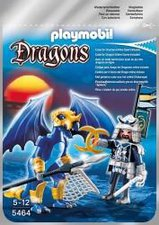 Playmobil Dragons - Ice Dragon mit Kämpfer (5464)