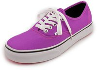 Vans Authentic neon purple/true white