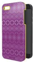 Esselte-Leitz Schutzcover Retro Chic violett/gelb (iPhone 5)