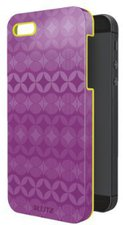 Esselte-Leitz Schutzcover Retro Chic violett/gelb (iPhone 5)
