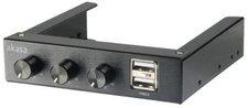 Akasa 3,5 Zoll Fan-Controller black (LULS-045)