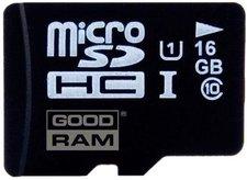 GoodRAM MicroSDHC 16 GB Class 10 UHS1 (SDU16GHCUHS1AGRR10)