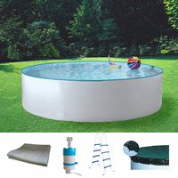 my pool Standard Rundformbecken 460 x 110 cm Set (5-tlg.)