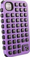 G-Form Extreme Grid Violett/Schwarz (iPhone 4/4S)
