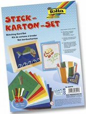 Folia Stickkarton-Set