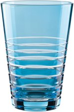 Nachtmann Sixties Colored Softdrinkglas Rondo aqua 360 ml