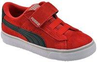 Puma S Vulc V Kids red/black