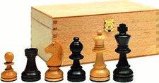 Weible Spiele Schachfiguren Staunton-Form Buchsbaum KH89